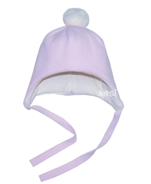 Шапочка флисовая KROSHKA by ARSI розовая (150гр)