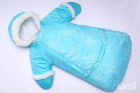 Комбинезон-мешок-зимний-Метелица-бирюзовый-АРСИ-фото-3