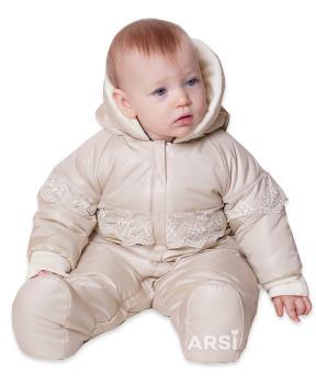 Демисезонные комбинезоны для новорожденных АРСИ Мой ангел крем фото 6