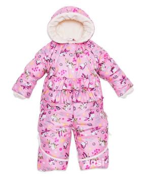 Комбинезон трансформер для новорожденных девочек Единорожек ARSI розовый фото 1