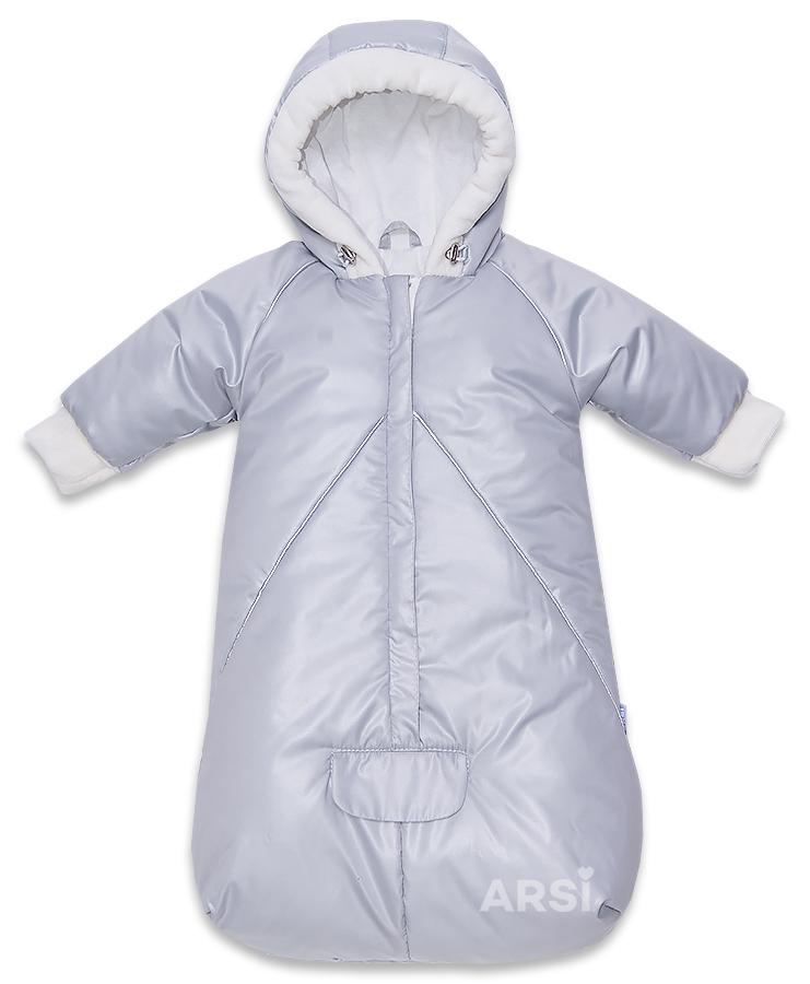 Одежда для новорожденных мальчиков Франт стальной фото 1