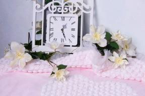 Плед-на-выписку-Аморе-розовый-АРСИ-фото-3