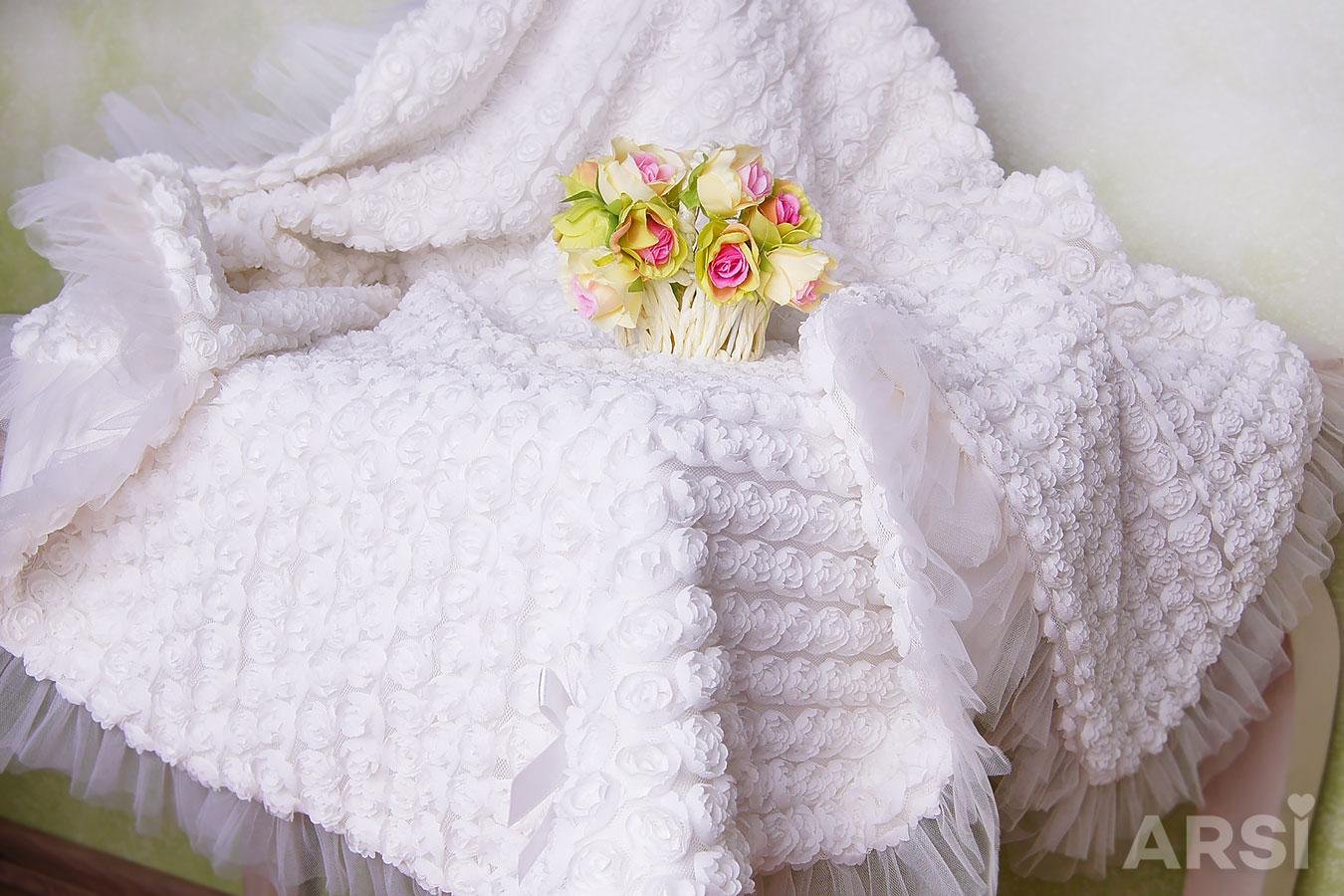 Одеяло плед на выписку из роддома
