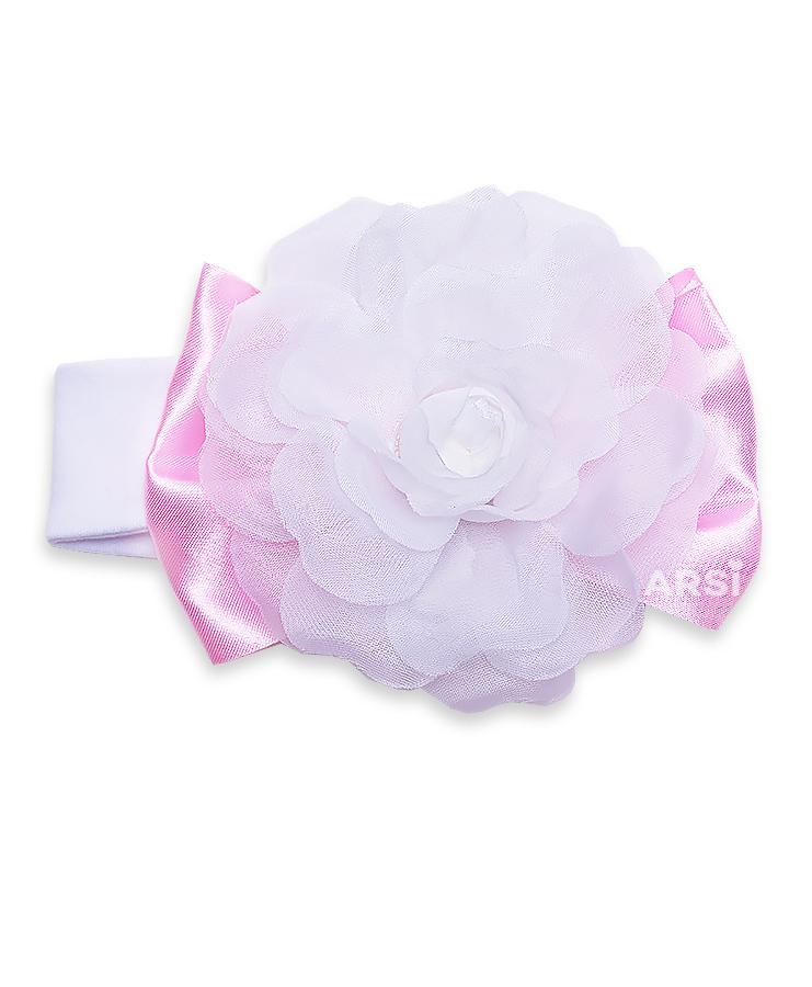 Повязка-цветок-АРСИ-Флоренция-розовая-фото-1
