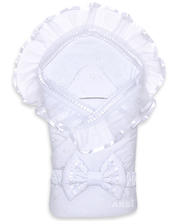 Комплект-на-выписку-АРСИ-Подснежник-белый-ARSI-фото-1,4