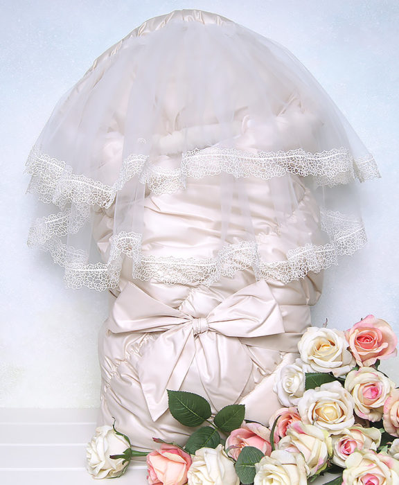 Одеяло на выписку зима FLORENCE by ARSI кремовый (2 пр.)