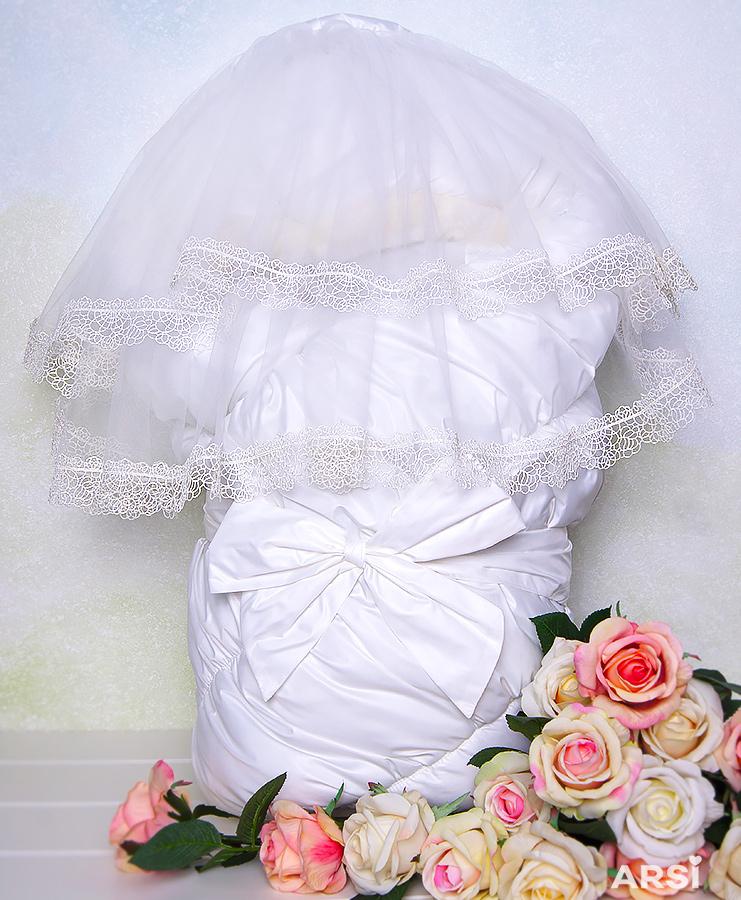 Одеяло-на-выписку-Флоренция-белое-фото-1