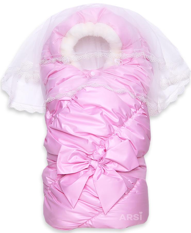 Одеяло-на-выписку-Флоренция-розовый-фото-1в