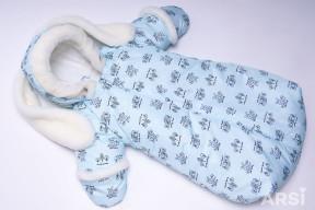 Комбинезон-мешок-Зайка-голубой-ARSI-фото-5