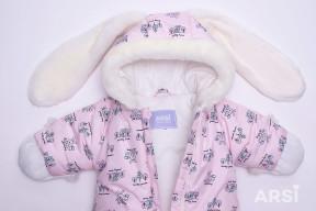 Комбинезон-мешок-Зайка-розовый-ARSI-фото-2