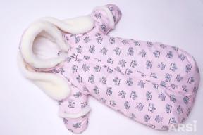 Комбинезон-мешок-Зайка-розовый-ARSI-фото-4