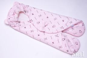 Конверт-для-автокресла-Мишка-розовый-АРСИ-ARSI-фото-6