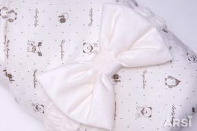 Одеяло-на-выписку-Мишка-ARSI-молочный-АРСИ-фото-3