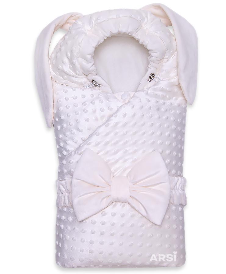 Одеяло-на-выписку-Зая-ARSI-молочный-АРСИ-фото-1