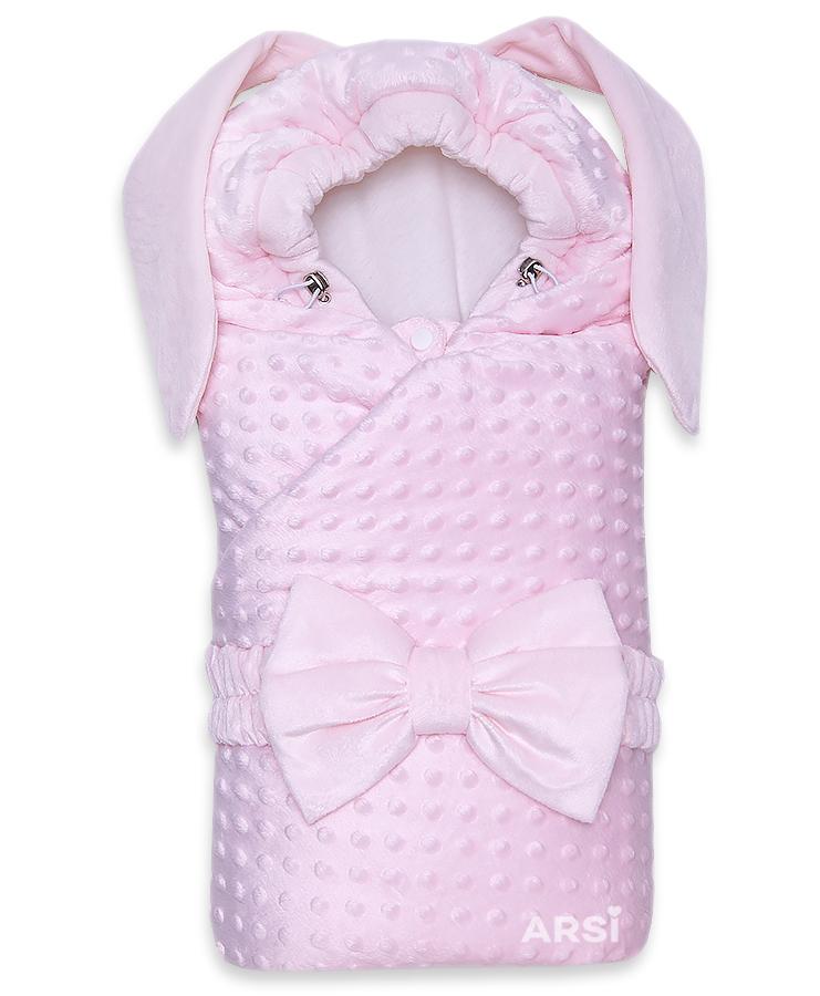Одеяло-на-выписку-Зая-ARSI-розовый-АРСИ-фото-1