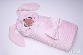 Одеяло-на-выписку-Зая-ARSI-розовый-АРСИ-фото-2