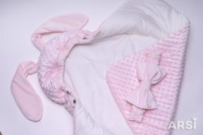 Одеяло-на-выписку-Зая-ARSI-розовый-АРСИ-фото-3
