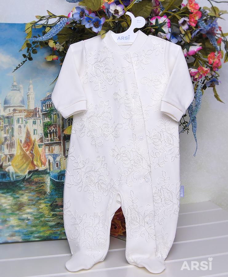 Трикотажный-комбинезон-для-новорожденного-Венеция-АРСИ-фото-1