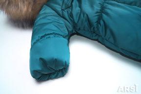 Комбинезон-конверт-Аляска-малахит-фото-2