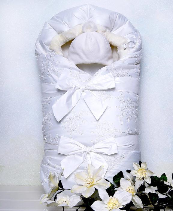 Комплект на выписку зима PRELEST by ARSI сиреневый (2 пр.)