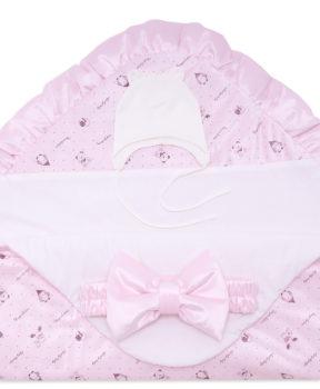 Комплект-на-выписку-Малышка-розовый-фото-3