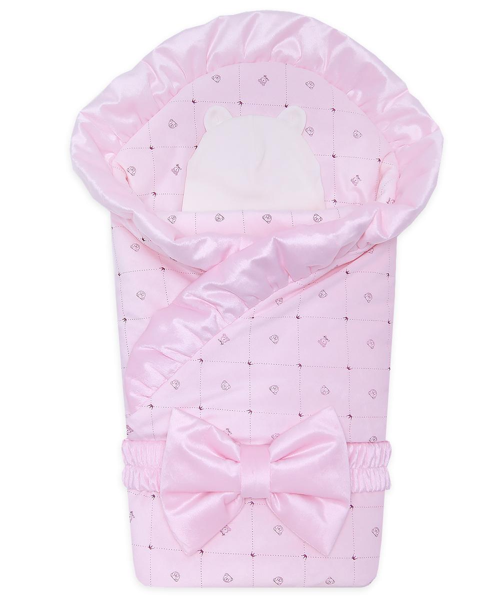 Комплект-на-выписку-Малышка-розовый-ромбик-АРСИ-фото-1-990-1200