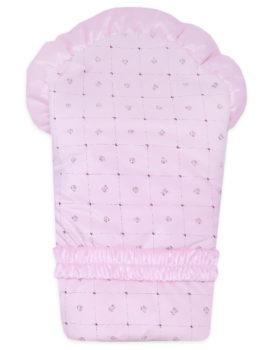 Комплект-на-выписку-Малышка-розовый-ромбик-АРСИ-фото-2