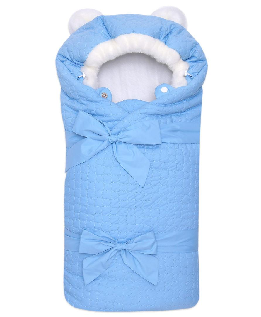 Одеяло-на-выписку-Умка-Арси-голубой-фото-(1)