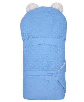 Одеяло-на-выписку-Умка-Арси-голубой-фото-(2)