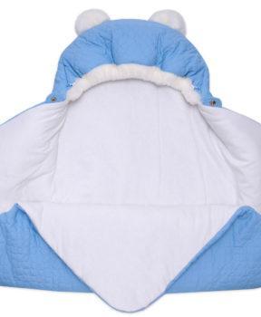 Одеяло-на-выписку-Умка-Арси-голубой-фото-(3)
