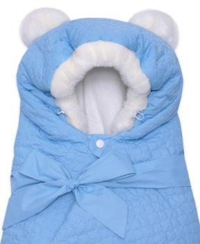 Одеяло-на-выписку-Умка-Арси-голубой-фото-(4)