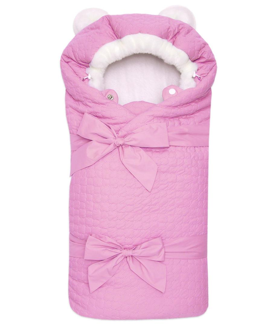 Одеяло-на-выписку-Умка-Арси-розовый-фото-(1,,)