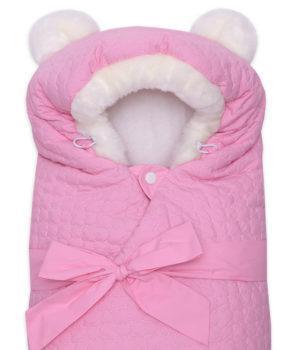 Одеяло-на-выписку-Умка-Арси-розовый-фото-(4)