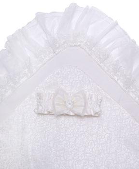 Одеяло-на-выписку-Ажур-АРСИ-молочный-фото-1