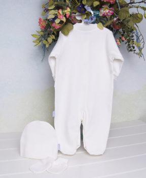 Комплект-на-выписку-Ажур-для-мальчика-молочный-фото-3