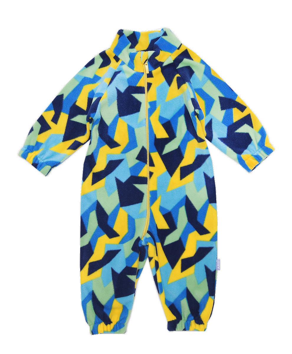АРСИ-Комбинезон-флисовый-Флисик-сине-желтый-68-фото-1(980-1200)
