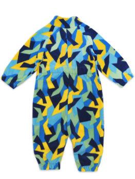 АРСИ-Комбинезон-флисовый-Флисик-сине-желтый-68-фото-2
