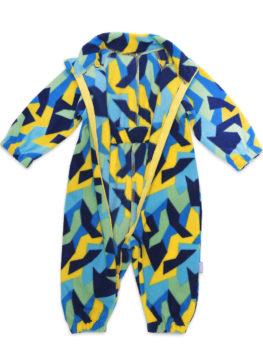 АРСИ-Комбинезон-флисовый-Флисик-сине-желтый-68-фото-3