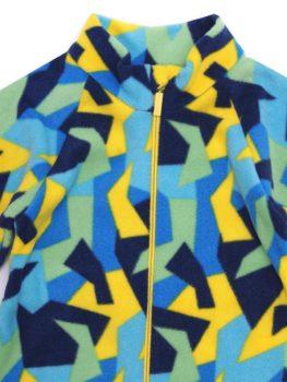 АРСИ-Комбинезон-флисовый-Флисик-сине-желтый-98-фото-4