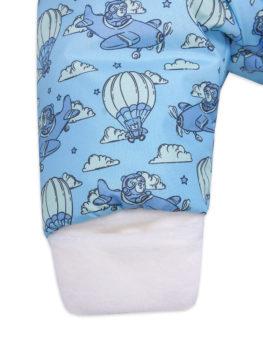 Комбинезон-мешок-Малышок-АРСИ-голубой-парашуты-фото-(8)