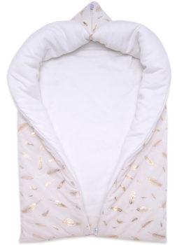 675-900-Конверт-для-новорожденного-на-выписку-Золотце-АРСИ-молочный-фото-(3)