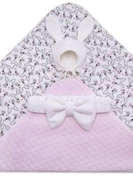 675-900-Одеяло-на-выписку-Зая-розовый-АРСИ-фото-(2)