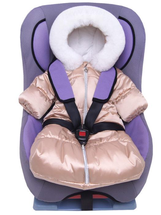 Комбинезон-мешок-для-новорожденного-Жемчужина-бежевый-фото-(9)