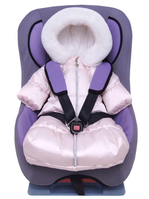 Комбинезон-мешок-для-новорожденного-Жемчужина-розовый-жемчуг-фото-(0)